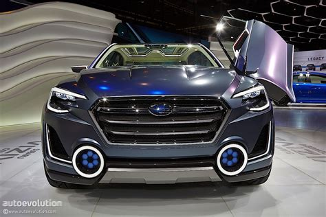 subaru viziv truck subaru viziv 2 concept previews the future at geneva 2014
