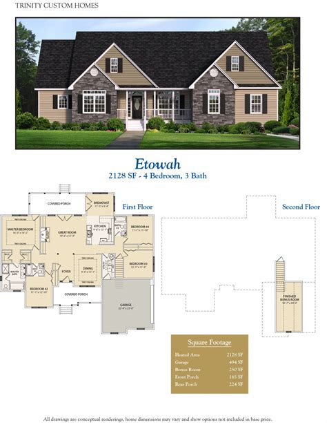 trinity custom homes floor plans etowah welcome to trinity custom homes