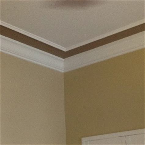 wall ceiling trim color and trim on the ceiling on the wall