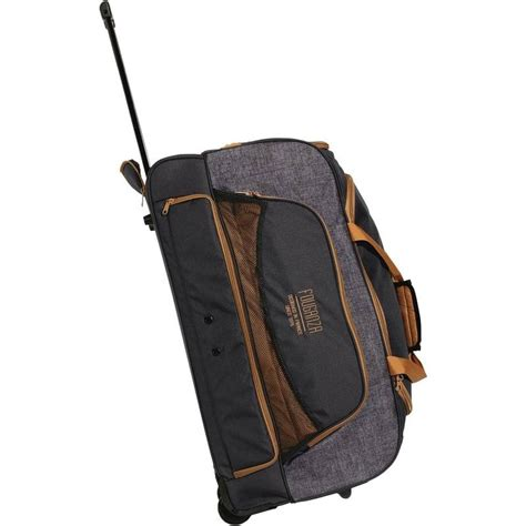 Tas Taekwondo Sports Carry Bag Shiny Taekwondo L trolley bag 80l grey camel decathlon