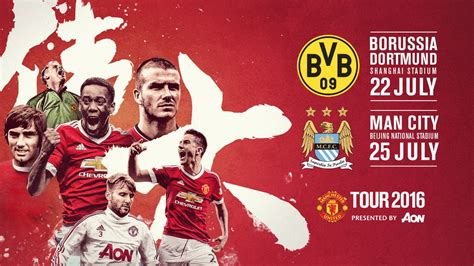 libro official manchester city 2016 united to play man city and dortmund in china official manchester united website