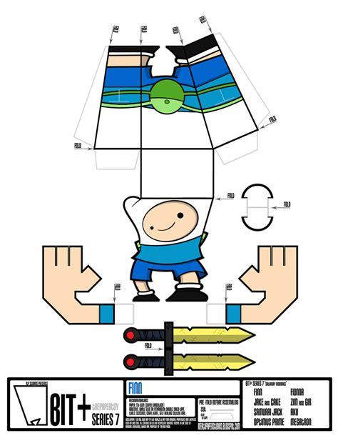 Adventure Time Paper Craft - papercraft adventure time finn www pixshark images