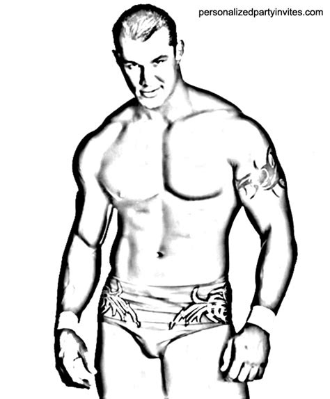 Randy Orton Coloring Page Archives Randy Orton Coloring Pages
