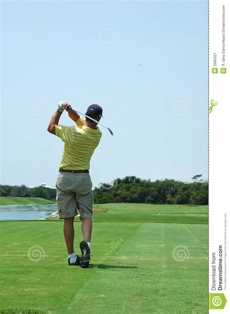 swing em again golf golf swing stock image image of club course outdoors