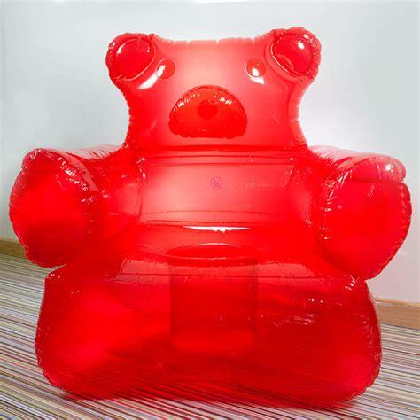 aufblasbare sofa gummy chair buy from prezzybox