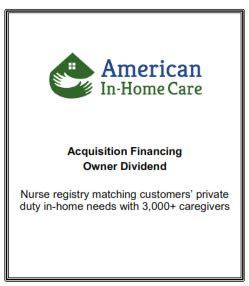 kian capital transaction announcement american in home
