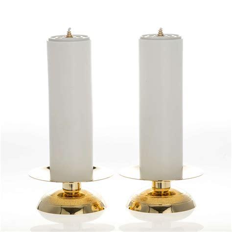finte candele candelieri e finte candele complete vendita su