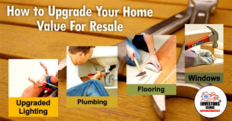 how to upgrade your home value for resale investors