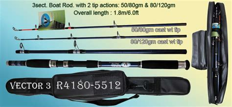 boat r tips osprey boat rods 2 3 sections boat rods for jigging or