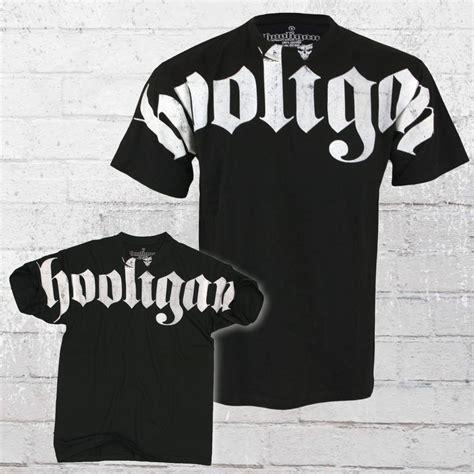 Tshirtt Shirtkaos Hooligan Order Now Hooligan T Shirt Hooligan Black