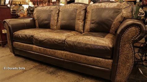 sofa made in usa el dorado 100 hand cut top grain leather sofa made in usa