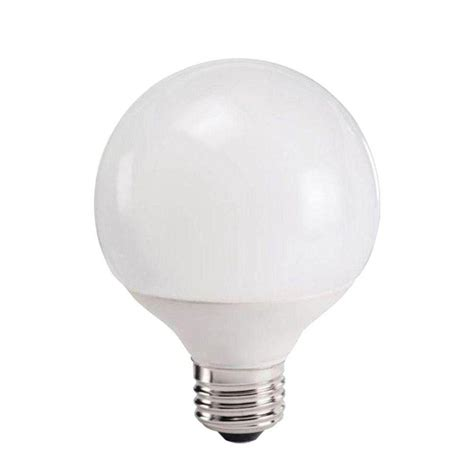 5 watt cfl light bulb philips 40w equivalent white 2700k g25 globe