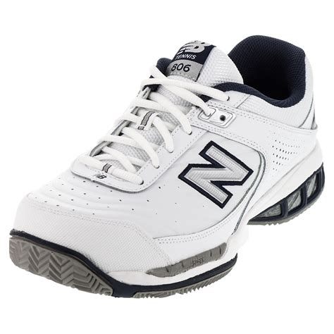 new balance tennis shoes new balance s mc806 d width tennis shoes white