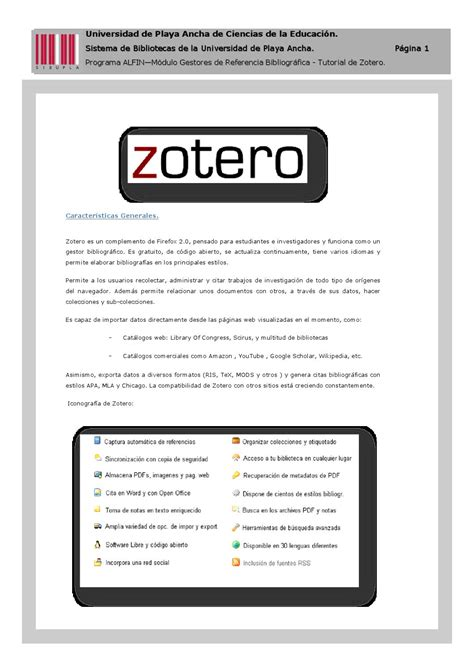 tutorial zotero tutorial zotero by achly saez issuu