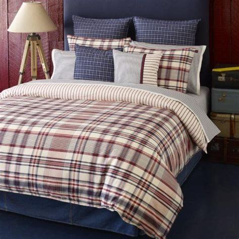 tommy hilfiger vintage plaid comforter set full queen by
