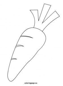 carrot nose coloring page best photos of carrot outline printable carrot coloring