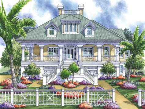 Low Country House Plans With Wrap Around Porch by Southern Low Country House Plans Joy Studio Design