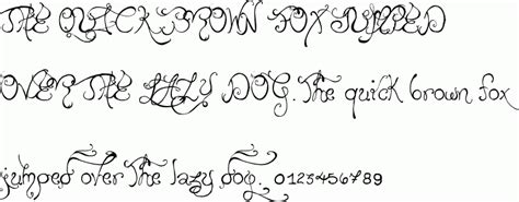 Wedding Font Characters by Edward S Wedding Free Font