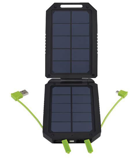 solar micro usb charger cobra electronics cpp 300 sp dual panel solar