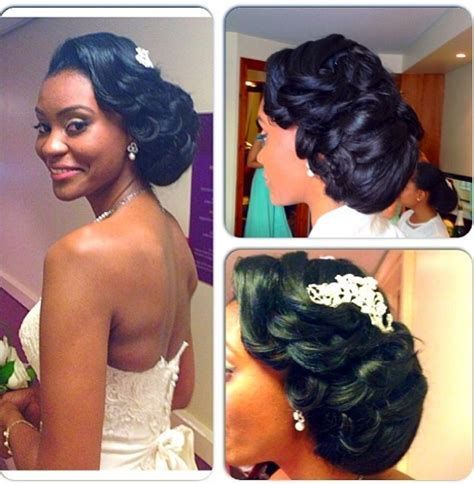 Black Wedding Hairstyles With Tiara by Fancy Black Wedding Hairstyles With Tiara Follows Cool