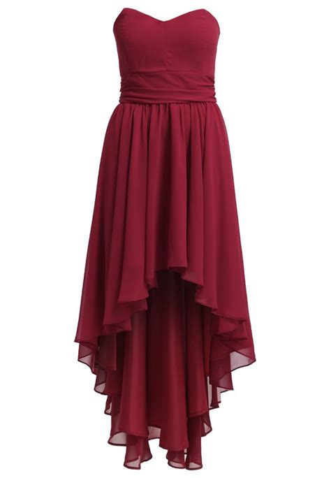 Swing Marke Kleid by Swing Cocktailkleid Festliches Kleid Braunrot Rot