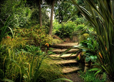 pictures of a garden dewstow gardens and grottoes