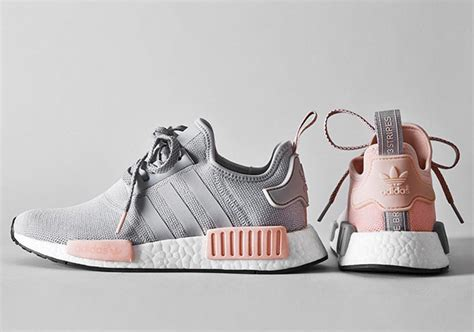 adidas nmd r1 grey pink by3059 by3058 sneakernews