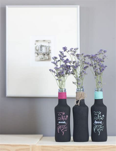 3 diy con chalk paint y una patata m 225 s de 25 ideas incre 237 bles sobre botellas de refresco en