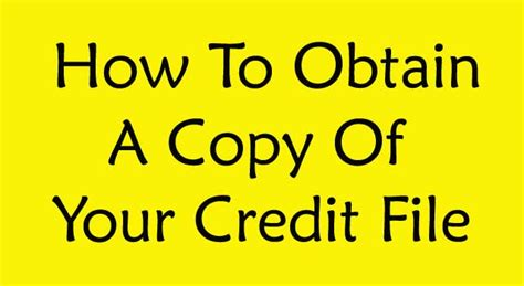 How To Obtain A Copy Of Your Criminal Record 28 New Credit File Secondary Credit My Credit Card