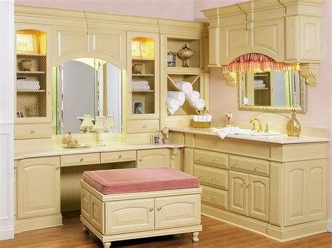 bathroom vanity with dressing table 20 stylish bathroom storage design ideas design trends