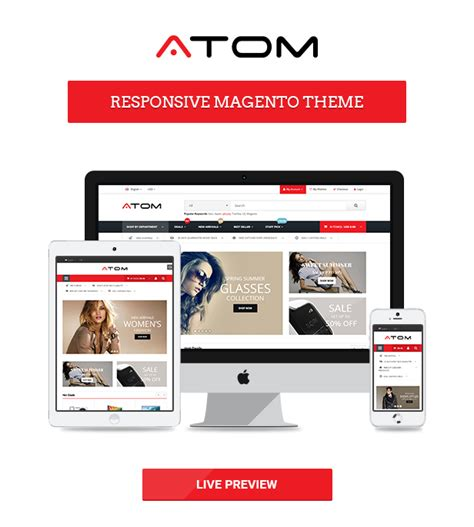 atom wp themes atom multipurpose responsive magento theme wordpress theme