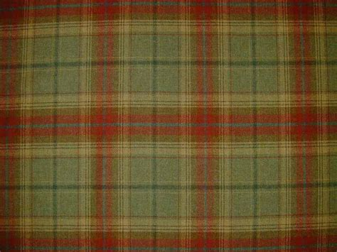 tartan material for upholstery wool tartan plaid red green fabric curtain upholstery
