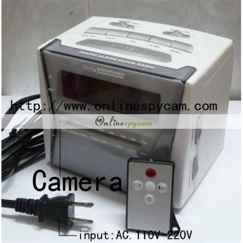 bedroom camera bedroom spy camera alarm clock radio camera 32gb motion