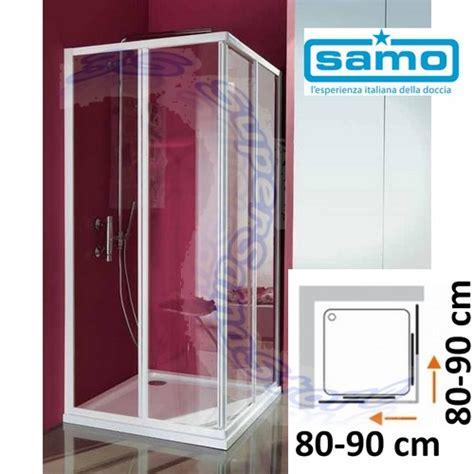 box doccia samo ciao 3s box vetro x doccia samo ciao in cristallo per piatto