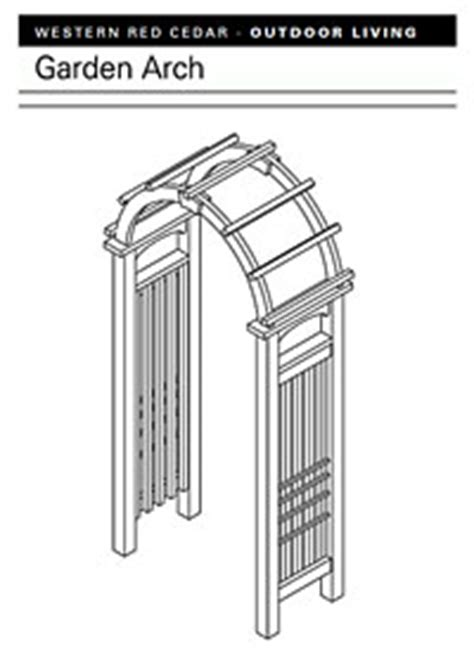 garden arch plans free arbor plans how to build an arbor