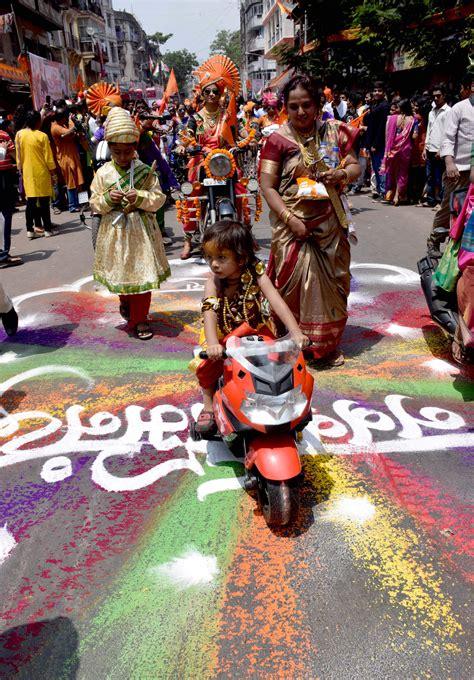 maharashtra new year 28 images gudi padwa gudhi stock