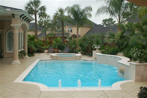 mediterranean pools cypress custom pools grecian style pool clean