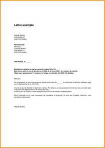 Exemple Lettre De Demission Avec Clause De Non Concurrence 9 Exemple De Pr 233 Avis Lettre Administrative