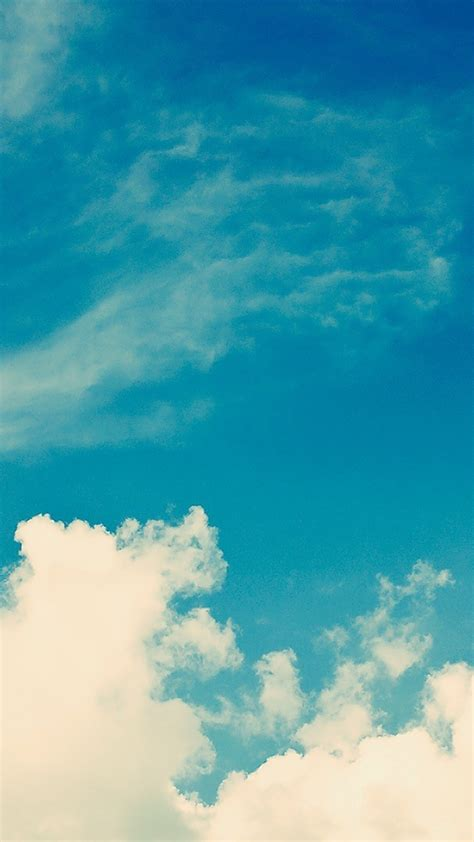 Beatiful For Iphone 5 5s white vintage clouds sky iphone 6 plus hd wallpaper