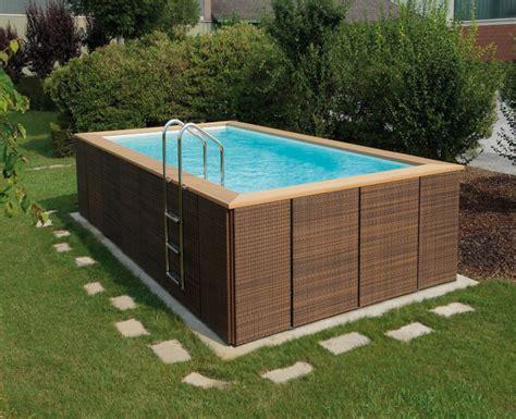 schwimmbecken zum aufstellen gartenpool zum aufstellen new garten ideen