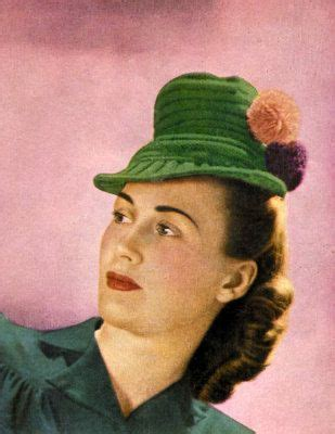 Fashion Safiano Pompom 1205 1 17 best images about 1940 s hats on vintage