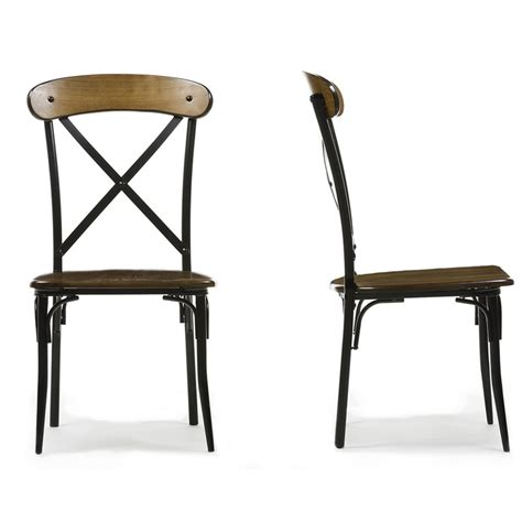 Metal And Wood Dining Chairs Industrial Vintage East India Dining Chair Akku Exports