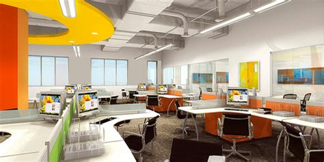 Cool Workspaces by Advantages Of Open Plan Offices