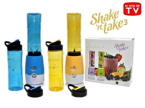Shake N Go New 1 Cup Shake Take 1 Gelas jual shake n take generasi 3 blend and go 1 cup juicer