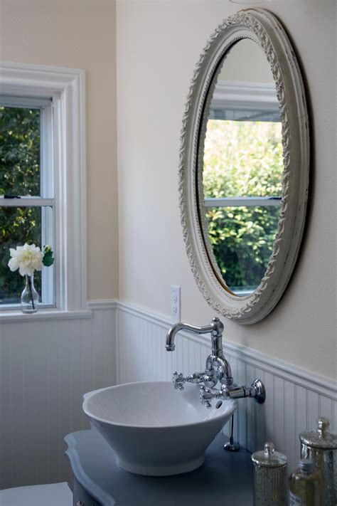 ornate bathroom mirror photo page hgtv