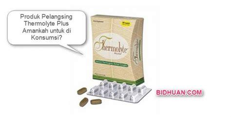 Pelangsing Thermolyte Plus produk pelangsing thermolyte plus amankah untuk di konsumsi berbagi opini edukasi