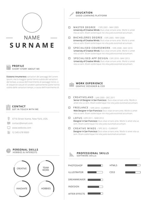 resume customization reasons professional clean infographic resume