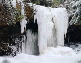 Frozen Waterfalls by File Frozen Waterfall Ohiopyle State Park Jpg