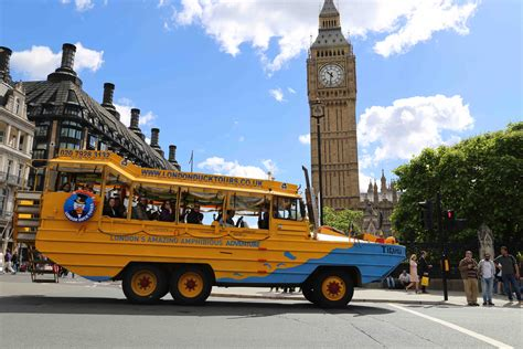 duck boat tour tickets win a family ticket for the london duck tour kidrated