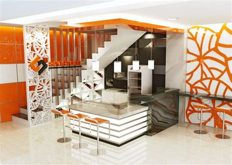 design booth cafe sribu retail interior booth design service